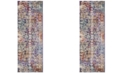 Safavieh Sutton Lavender and Ivory 3' x 10'  Runner Area Rug