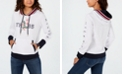 Tommy Hilfiger Floral Logo Hoodie, Created for Macy's