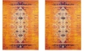 Safavieh Monaco Orange and Multi 11' x 15' Area Rug