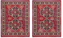 Safavieh Cherokee Red and Blue 8' x 10' Area Rug
