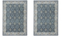 Safavieh Madison Navy and Creme 3' x 5' Sisal Weave Area Rug