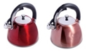 Megagoods Mr. Coffee Belgrove 2.5 Quart Whistling Tea Kettle