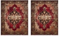 Safavieh Vintage Hamadan Red and Multi 11' x 15' Area Rug