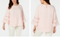 Calvin Klein Plus Size Lace-Trim Top