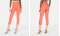 XOXO Juniors' Side Snap Skinny Cropped Pants