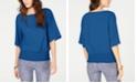 Michael Kors Smocked Kimono Top, Regular & Petite Sizes
