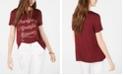 Pretty Rebellious Juniors' Thankful, Grateful, Blessed Shine Graphic T-Shirt