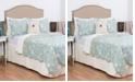 C&F Home Ocean Blue Twin 2 Piece Quilt Set