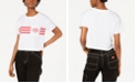 Dickies Chest-Stripe Cropped T-Shirt