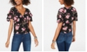 American Rag Juniors' Ruffle-Sleeve Top, Created for Macy's