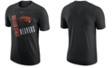 Nike Men's Oregon State Beavers Dri-Fit Cotton Just Do It T-Shirt