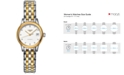 Longines Women's Swiss Automatic Flagship Diamond Accent Two Tone Stainless Steel Bracelet Watch 26mm L42743277