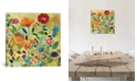 """iCanvas """"Summer Meadow"""" By Kim Parker Gallery-Wrapped Canvas Print - 18"""" x 18"""" x 0.75"""""""