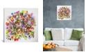 "iCanvas ""Beach Peas"" By Kim Parker Gallery-Wrapped Canvas Print - 26"" x 26"" x 0.75"""