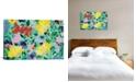 "iCanvas ""Mint Garden Textile"" By Kim Parker Gallery-Wrapped Canvas Print - 18"" x 26"" x 0.75"""