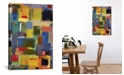 """iCanvas """"Color Essay With Grey"""" By Kim Parker Gallery-Wrapped Canvas Print - 26"""" x 18"""" x 0.75"""""""