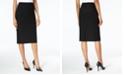 Kasper Petite Pencil Midi Skirt