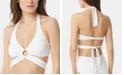 Carmen Marc Valvo Wrap Halter Bikini Top