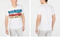 INC International Concepts I.N.C. Men's Stripe Graphic V-Neck T-Shirt, Created for Macy's