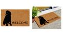 "Home & More Labrador 17"" x 29"" Coir/Vinyl Doormat"