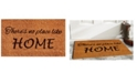 "Home & More No Place Like Home 17"" x 29"" Coir/Vinyl Doormat"