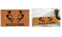 "Home & More Trinidad Welcome 17"" x 29"" Coir/Vinyl Doormat"