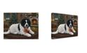 "Trademark Global Jeff Tift 'Christmas Companion' Canvas Art - 24"" x 18"" x 2"""