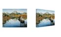 "Trademark Global Jeff Tift 'Bull Moose' Canvas Art - 24"" x 18"" x 2"""