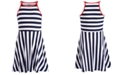 Epic Threads Big Girls Striped Skater Dress, Created for Macy's