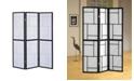 Coaster Home Furnishings Kingston 3-Panel Folding Floor Screen