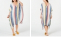 INC International Concepts I.N.C. Rainbow Stripe Caftan, Created for Macy's