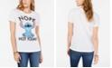 Disney Juniors' Stitch Graphic-Print T-Shirt