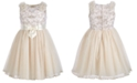 Bonnie Jean Toddler Girls Embroidered Top Dress