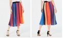 Lucy Paris Pleated Midi Skirt