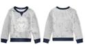Polo Ralph Lauren Toddler Boys Twill Terry Graphic Sweatshirt