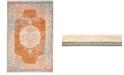 Bridgeport Home Norston Nor4 Terracotta 4' x 6' Area Rug