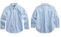 Polo Ralph Lauren Toddler Boys Stretch Poplin Shirt