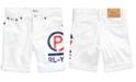 Polo Ralph Lauren Little Boys Americana Denim Cut-Off Shorts