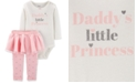 Carter's Baby Girls 2-Pc. Bodysuit & Tutu Leggings Set