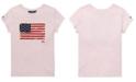 Polo Ralph Lauren Little Girls Cotton Jersey Patriotic T-Shirt