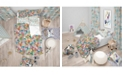 Design Art Designart 'Funny Cat'S Heads Pattern' Modern Kids Duvet Cover Set - Twin