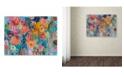 """Trademark Global Carrie Schmitt 'Exhalation' Canvas Art - 14"""" x 19"""""""