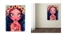 "Trademark Global Natasha Wescoat 'Rosary' Canvas Art - 14"" x 19"""