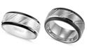 Triton Men's Ring, Tungsten Carbide Band (9mm)