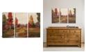 "iCanvas Fall Creek by Silvia Vassileva Gallery-Wrapped 3 Piece Canvas Print - 40"" x 60"" x 1.5"""