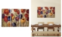 """iCanvas Asters and Mums by Silvia Vassileva Gallery-Wrapped Canvas Print - 40"""" x 60"""" x 1.5"""""""