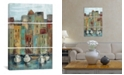 """iCanvas Old Town Port I by Silvia Vassileva Gallery-Wrapped Canvas Print - 60"""" x 40"""" x 1.5"""""""