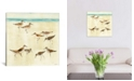 """iCanvas Sandpipers by Avery Tillmon Gallery-Wrapped Canvas Print - 18"""" x 18"""" x 0.75"""""""