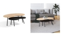 Furniture Darcie Coffee Table, Quick Ship (Set of 2)