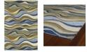 Kaleen Casual Alder-50 Blue 2' x 3' Area Rug
